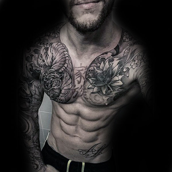Tattoo Ideas Chest: 101+ Best Chest Tattoos For Men