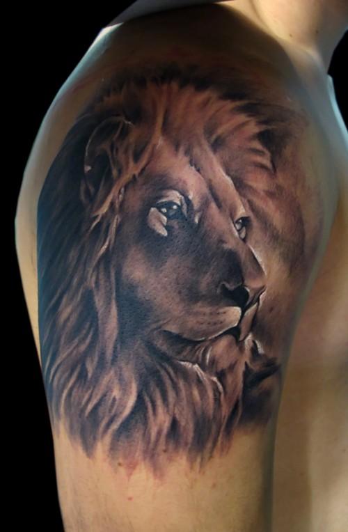 19c365141 90 Best Lion Tattoo Design Ideas On Askideas