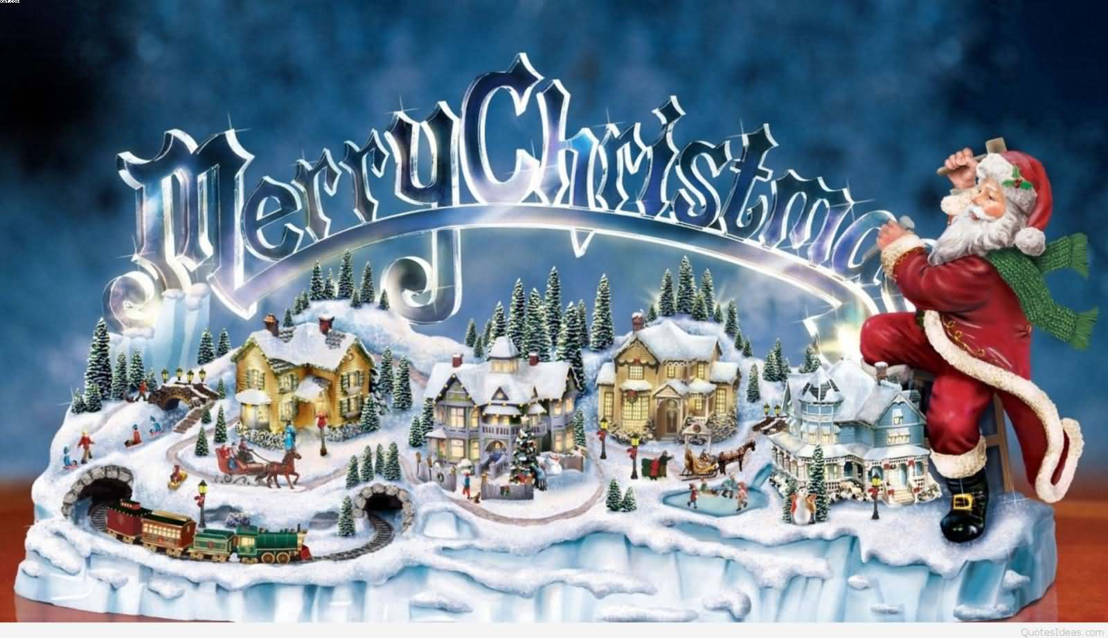 Merry Christmas beautiful wallpaper