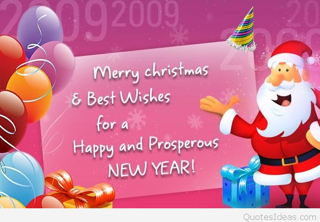 Merry Christmas & best wishes for a happy and prosperous new year