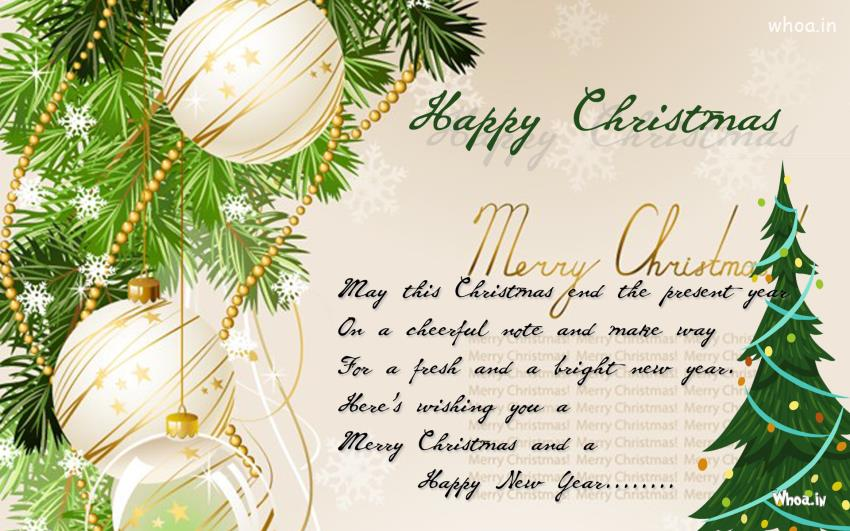 Exceptional Merry Christmas Wishes Greeting Card