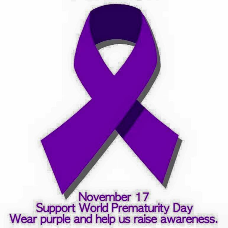 November 17 Support World Prematurity Day