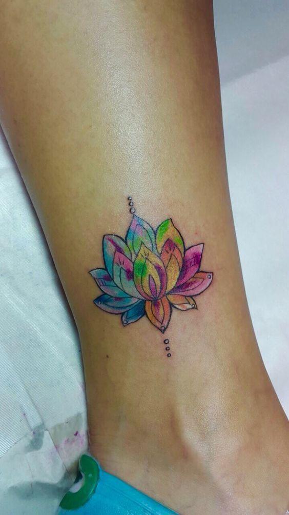 80 most beautiful lotus flower tattoo design ideas