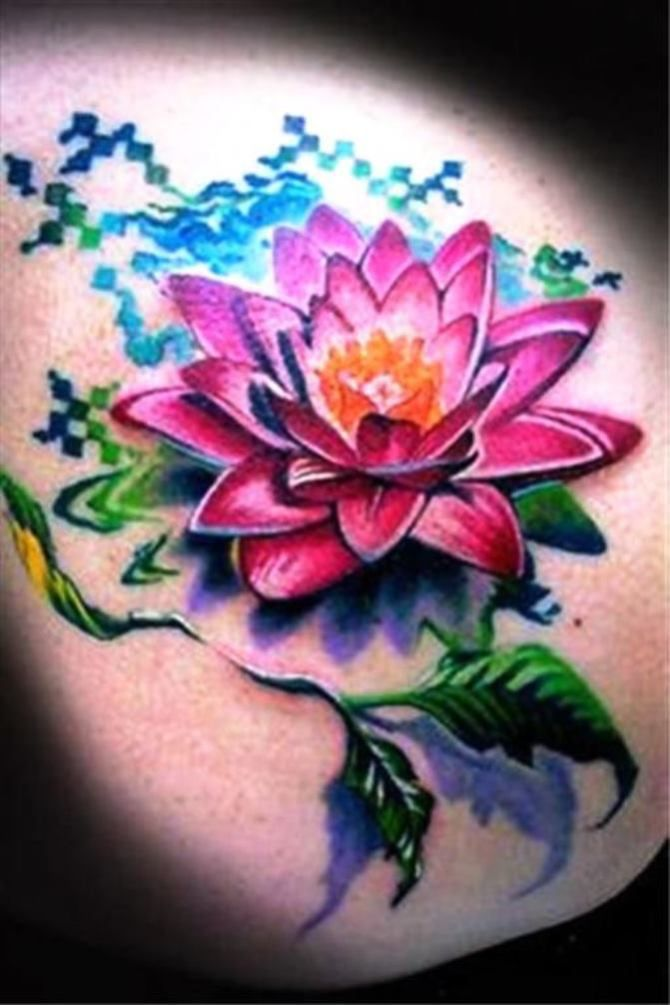 Lotustattoo Flower Tattoo Shoulder