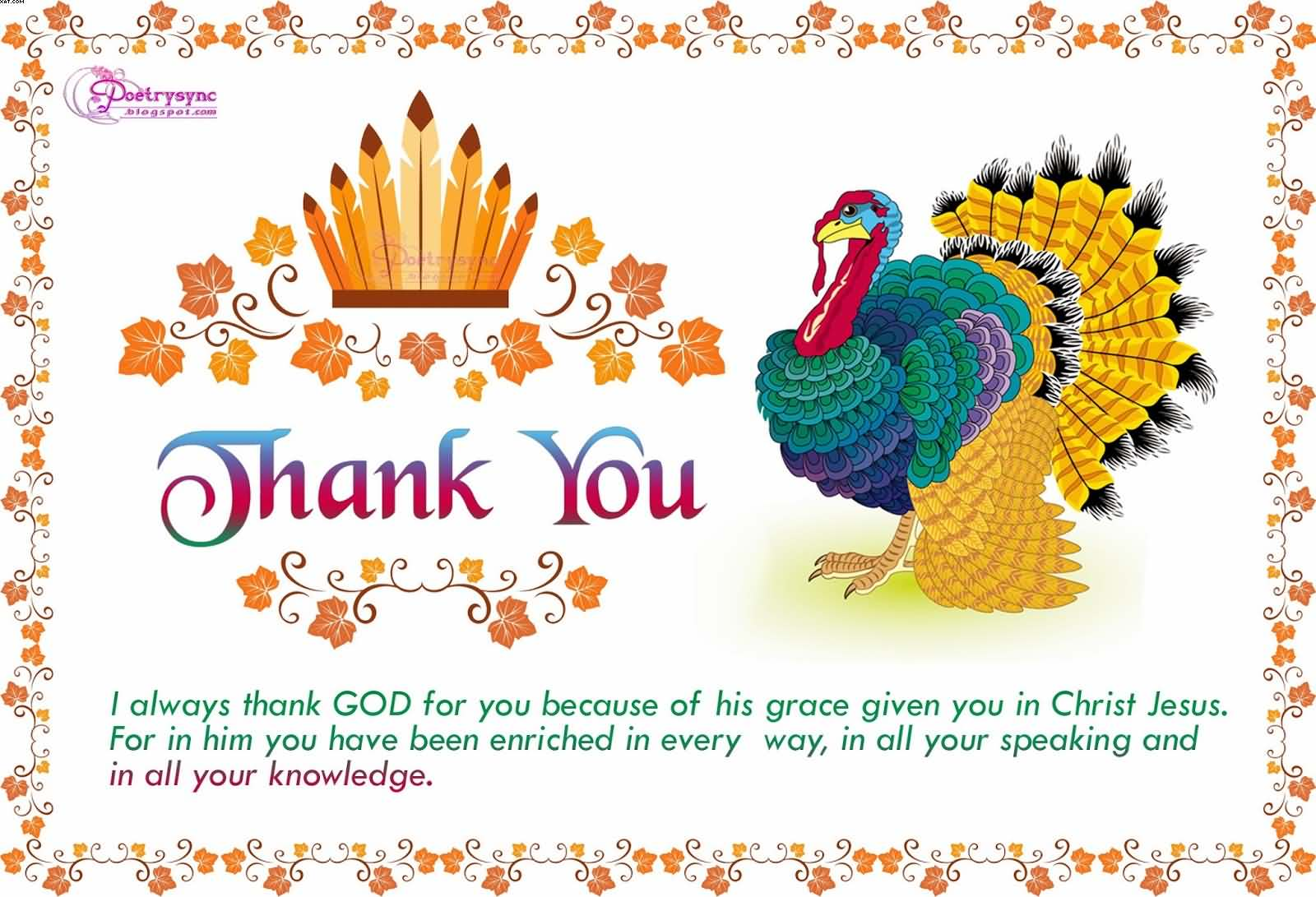 75 most amazing happy thanksgiving wish pictures and photos thank you wishes with peacock picture kristyandbryce Choice Image