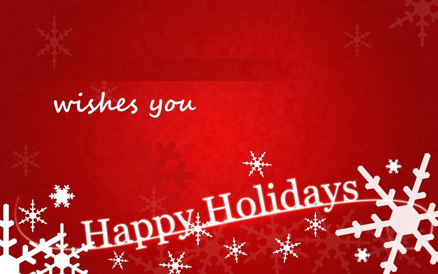 Wishes you happy holidays card kristyandbryce Image collections