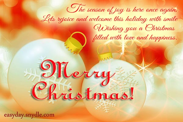 wishing you a christmas filled with love and happiness merry christmas