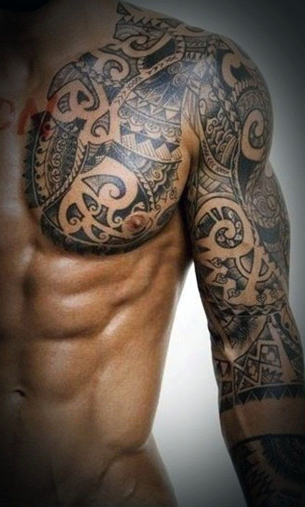 101 best chest tattoos for men. Black Bedroom Furniture Sets. Home Design Ideas