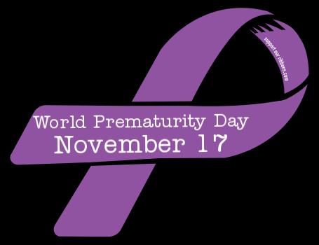 World Prematurity Day November 17 Ribbon