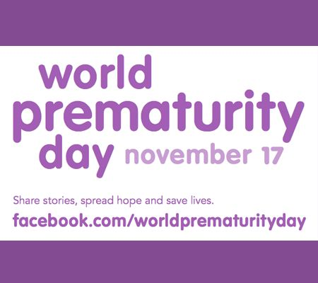 World Prematurity Day Share Stories, Spread Hope And save Lives