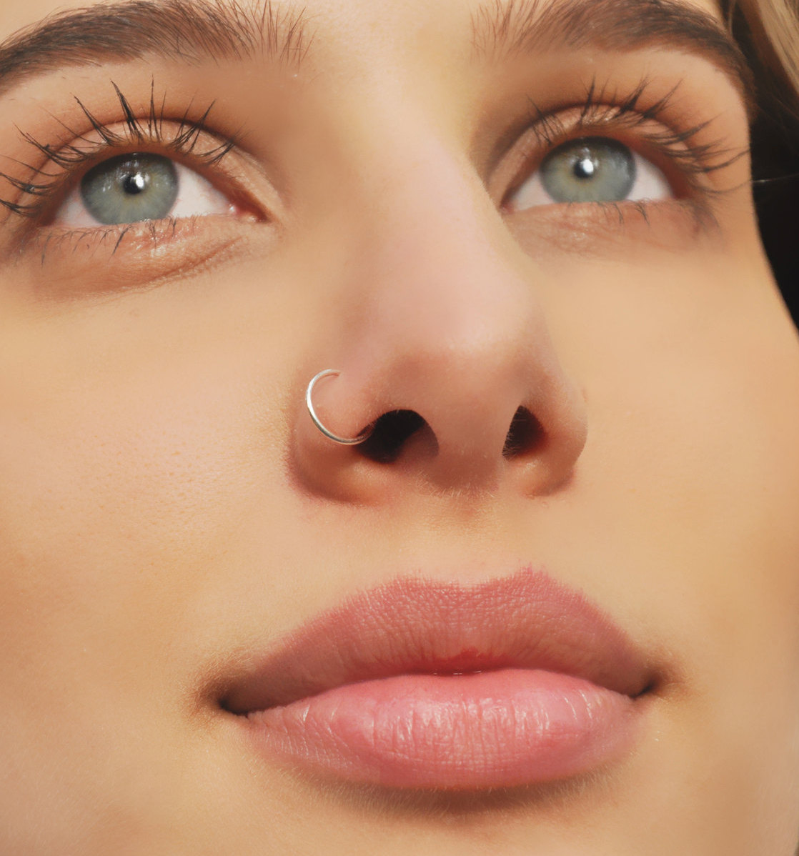 50+ best nose ring piercing images & ideas