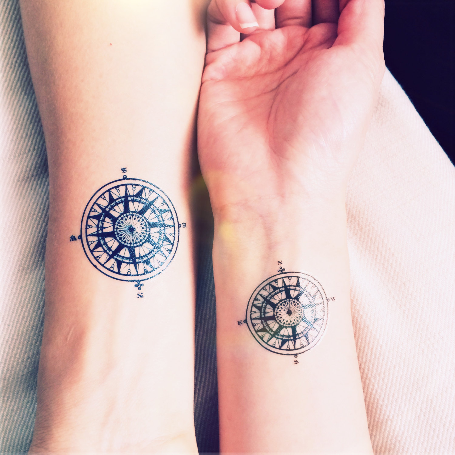 Love Quotes Tattoos For Couples 16 Best Couple Travel Tattoo Ideas & Designs