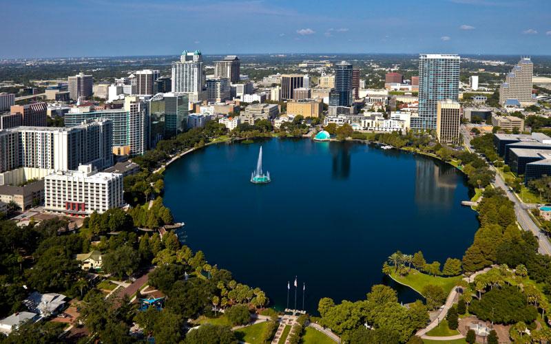 Lake Eola, Orlando, Florida