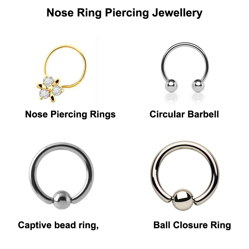 50 Best Nose Ring Piercing Images Ideas