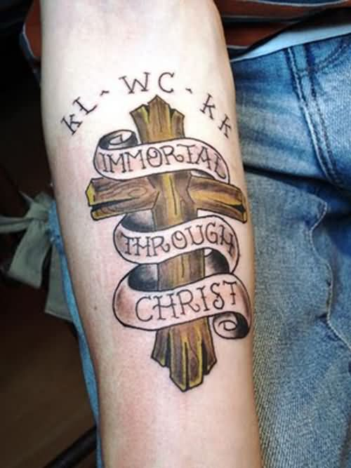 85 Best Forearm Cross Tattoo Images Amp Design Ideas