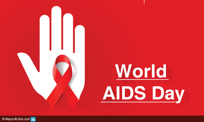 World Aids Day Hand With Awareness Symbol Picture