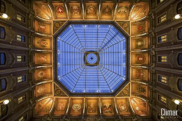 Adorable Ceiling Inside Palacio da Bolsa