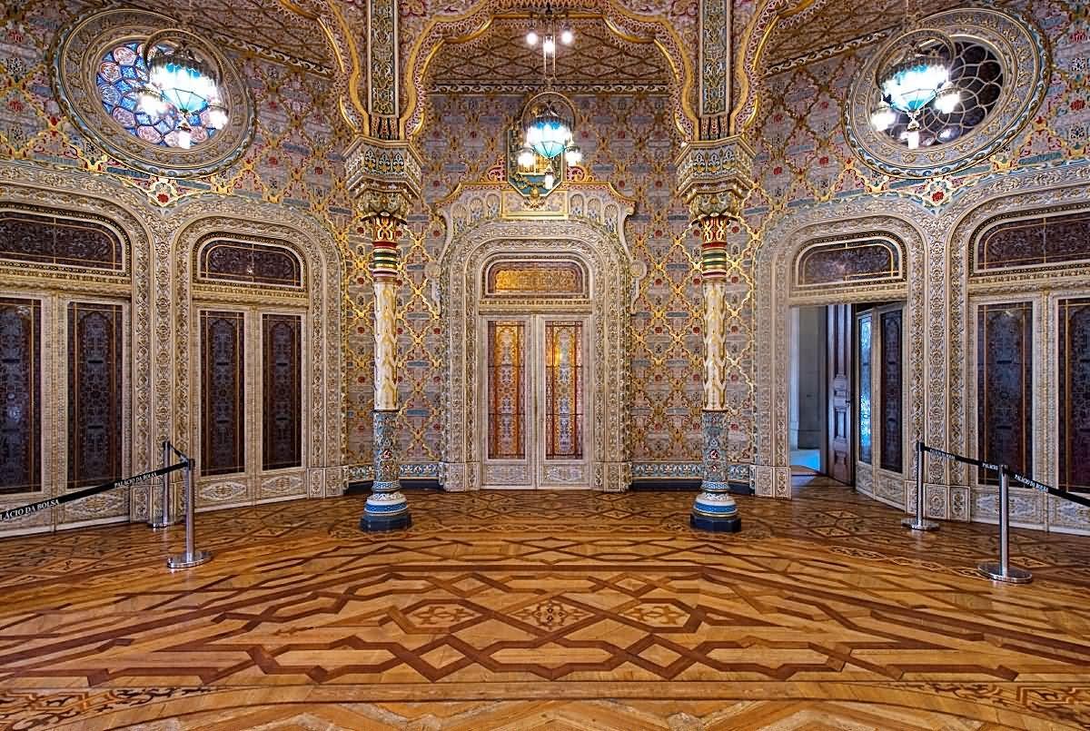 Adorable Inside View Of The Palácio da Bolsa