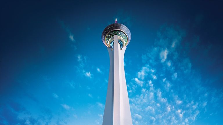 Adorable View Of Stratosphere Tower