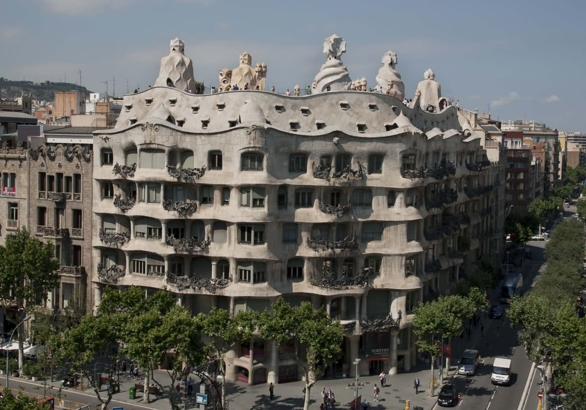 25 Most Amazing La Pedrera Pictures And Photos