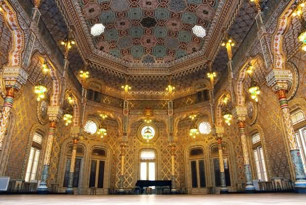 Amazing Interior Of The Palácio da Bolsa