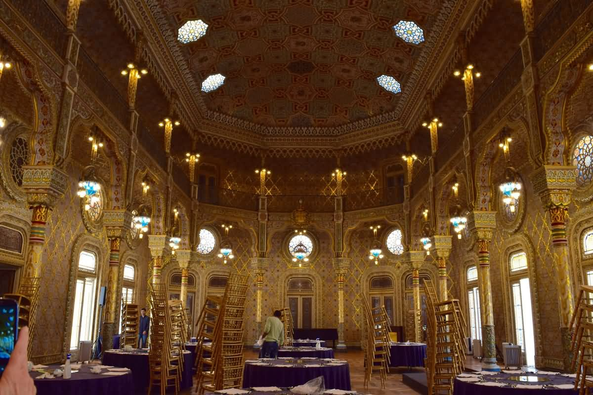 Arab Room Inside The Palacio da Bolsa