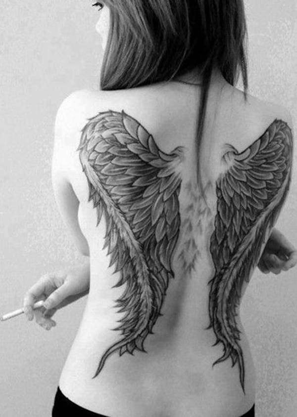 101 Best Angel Wings Tattoos Designs