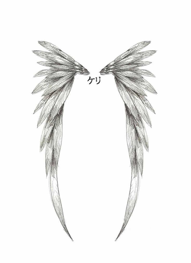 101 best angel wings tattoos designs. Black Bedroom Furniture Sets. Home Design Ideas