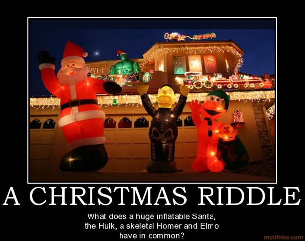 Christmas Riddle Funny Picture