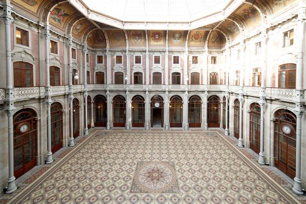 Courtyard Of The Palacio da Bolsa