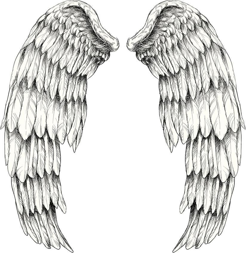 Tattoo Designs Wings: 101+ Best Angel Wings Tattoos & Designs