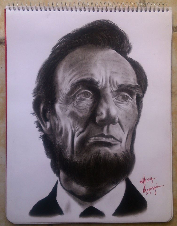 Abraham Lincoln Drawing ( 6 hrs).