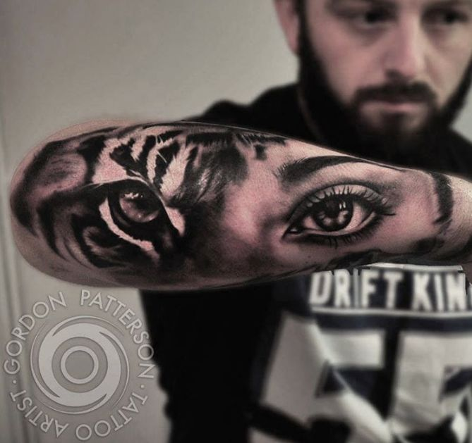 60+ Best Tiger Eye Tattoos & Designs With Meanings
