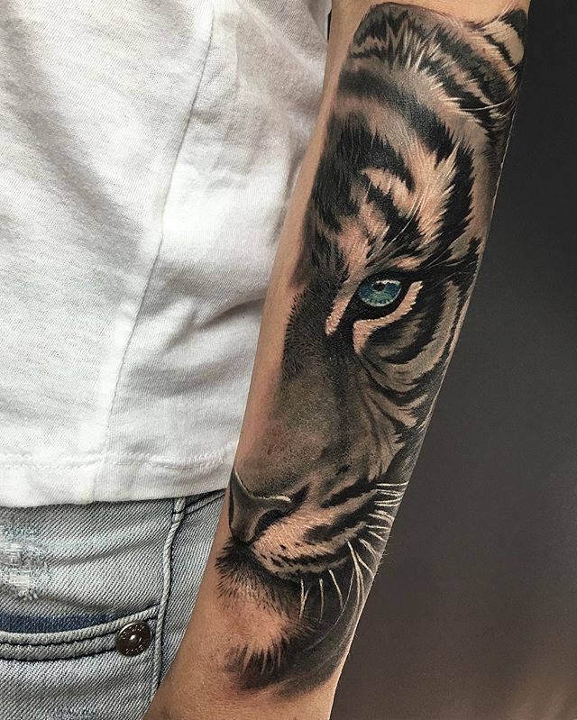 60+ Best Tiger Eye Tattoos & Designs With Meanings - photo#34