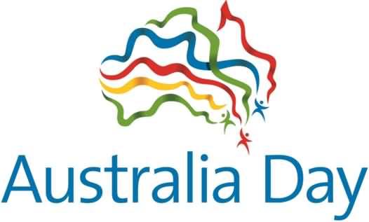 Australia Day Ribbons Clipart