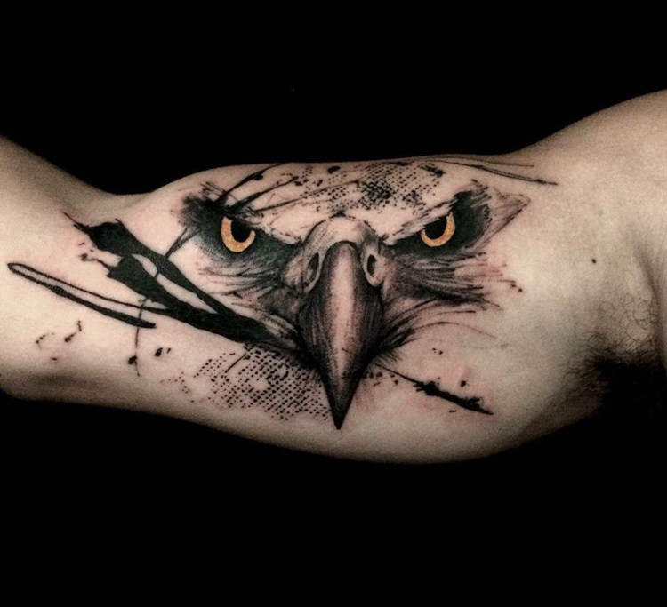 Image result for eagle eye tattoo