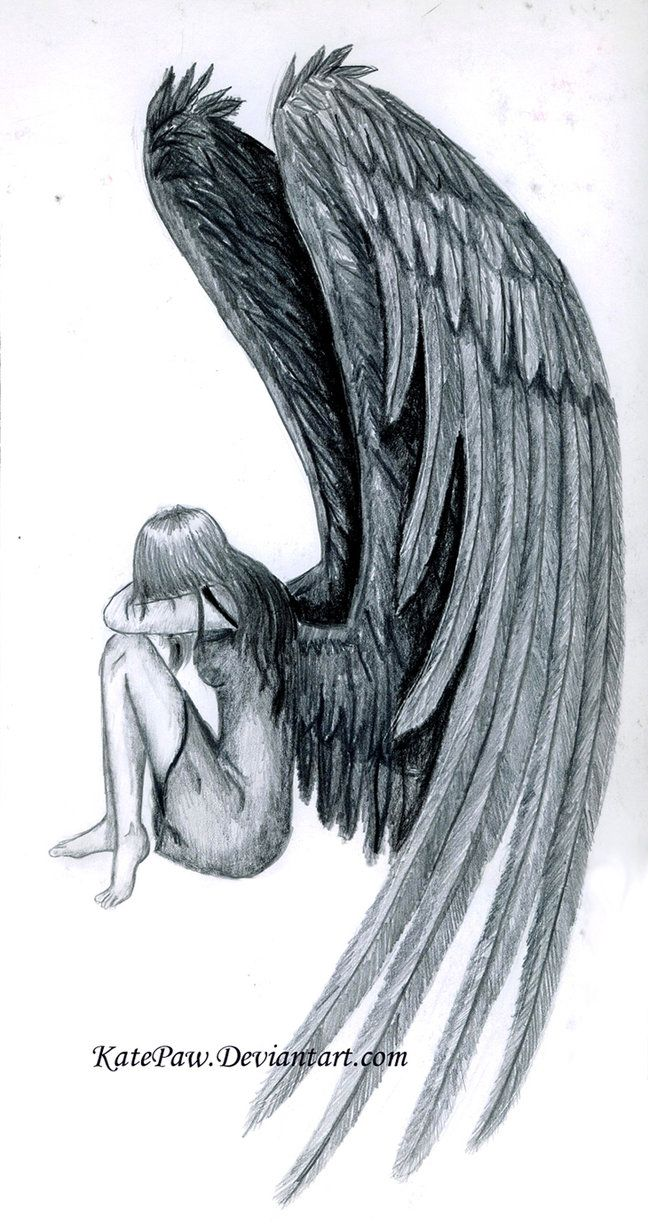 60 wonderful fallen angel tattoos designs with meanings. Black Bedroom Furniture Sets. Home Design Ideas
