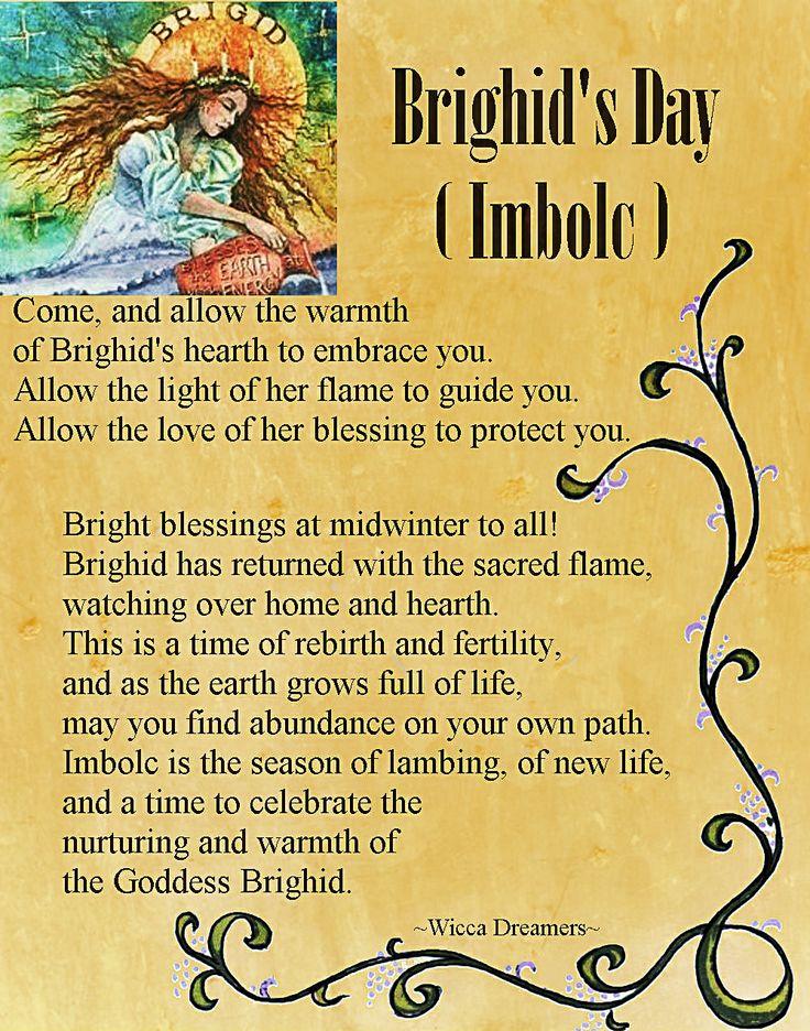 Brighids Day Imbolc