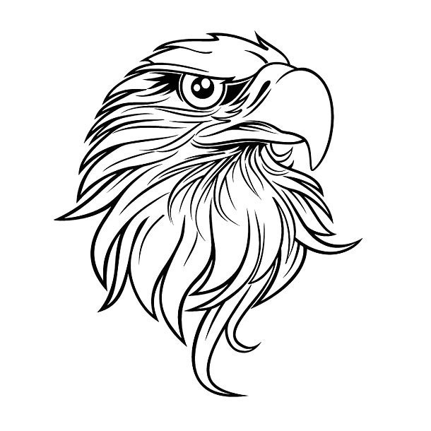 75 best eagle head tattoos designs with meanings. Black Bedroom Furniture Sets. Home Design Ideas