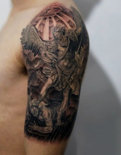 41+ Best Archangel Tattoos & Designs With Meanings