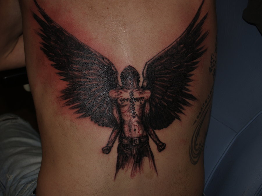 98f648aad340e 60+ Wonderful Fallen Angel Tattoos & Designs With Meanings
