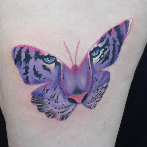 50 Incredible Tiger Butterfly Tattoos Designs With Meanings
