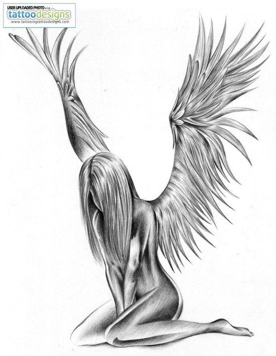 Nude tattoos angel girls, hot pussy intercourse