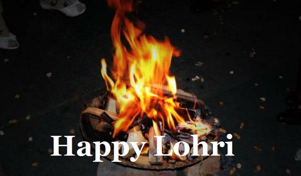 Happy Lohri Bonfire
