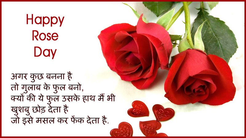 50 best rose day 2018 wish pictures and images happy rose day wishes in hindi image m4hsunfo