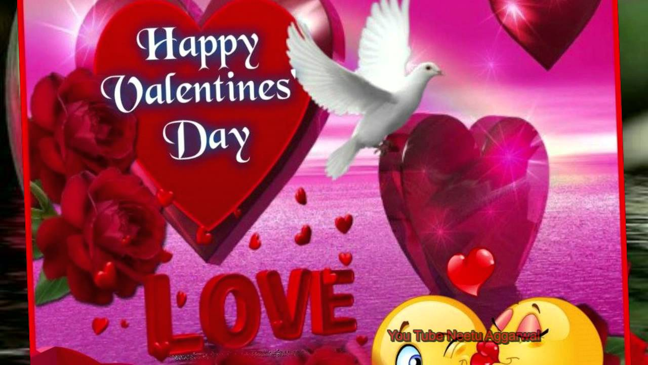 60 best valentines day 2018 greeting picture ideas happy valentines day flying dove picture m4hsunfo