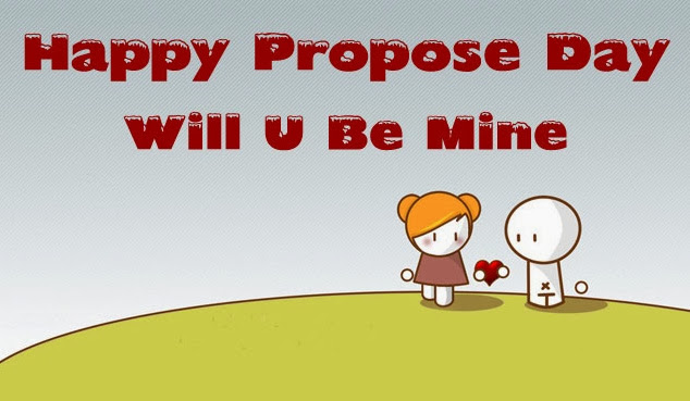 Happy Propose Day Will You Be Mine