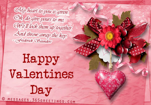 my heart to you is given oh do give your to me well lock them up together and throw away the key happy valentines day