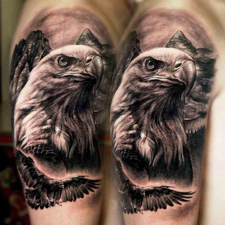 12 Best Eagle Tattoo Images And Designs Ideas: 75+ Best Eagle Head Tattoos & Designs With Meanings