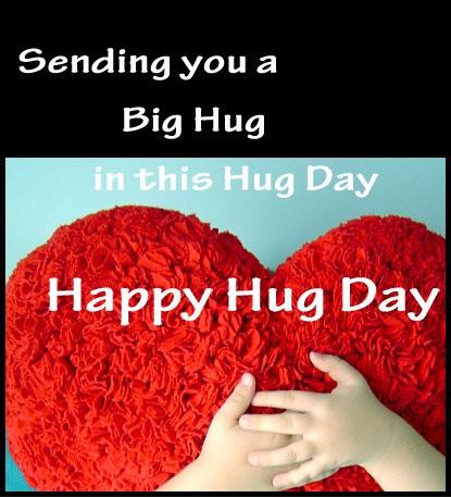 Sending you a big Hug in this hug day Happy Hug Day